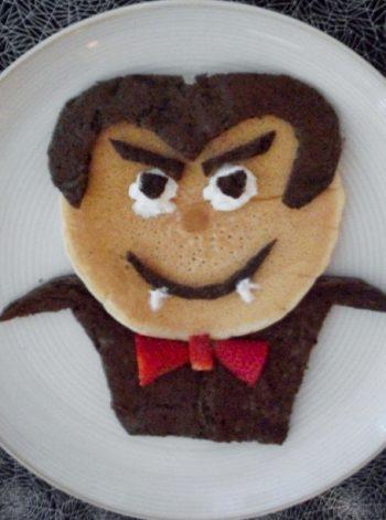 Dracula Pancakes