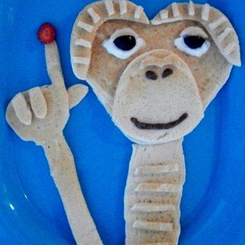 E.T. Phone Home Pancakes