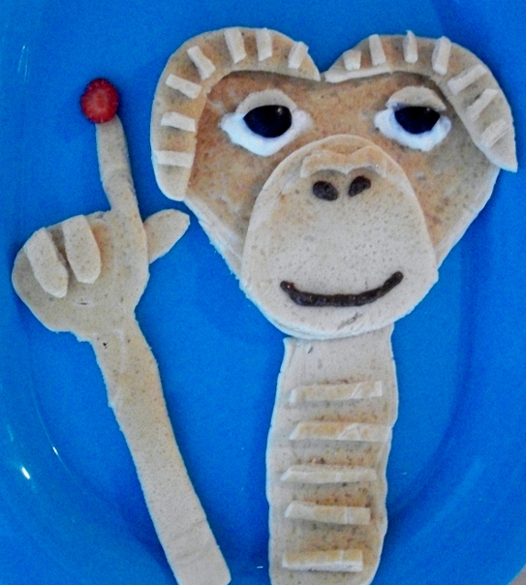 E.T. Phone Home Pancakes