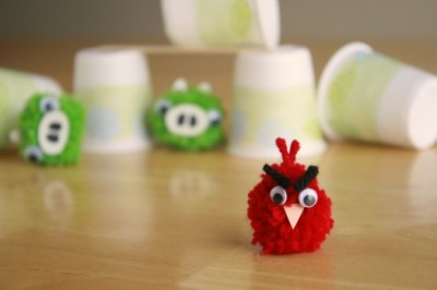 Pom Pom Angry Birds
