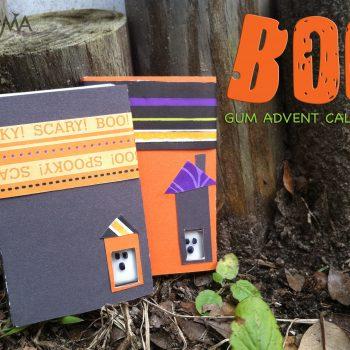 Boo! Gum Countdown Calendar