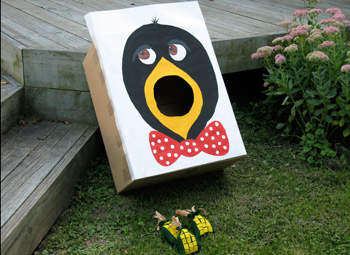 Crow and Corn Beanbag Toss