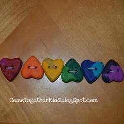 Crayon Heart Bracelet