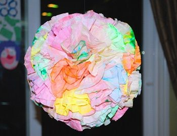 Coffee Filter Art