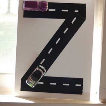 Duct Tape Monogram