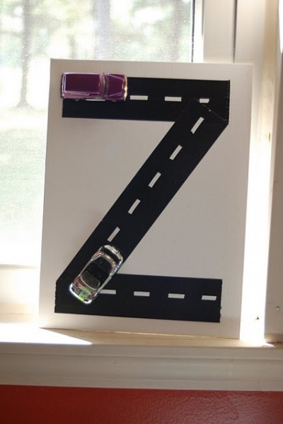 Duct tape monogram fun family crafts for Duct tape bedroom ideas
