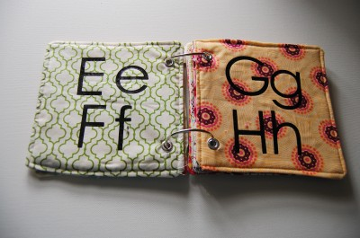 Fabric ABC Book