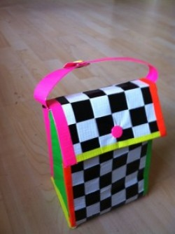 Duct Tape Lunch Bag