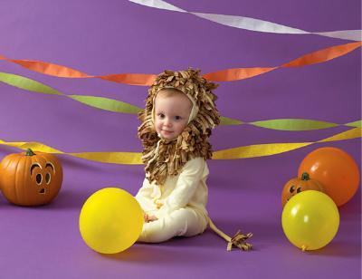 Snuggly Lion Halloween Costume