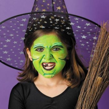 7 Halloween Face Paint Ideas + Directions