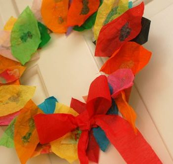 Easy Leaf Wreath