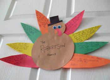 Family Thank You Turkey