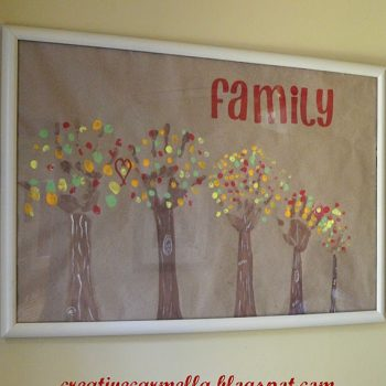 Family Handprint Trees