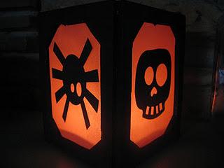 Faux Halloween Lanterns