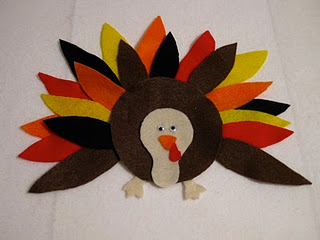 Felt Board Turkey