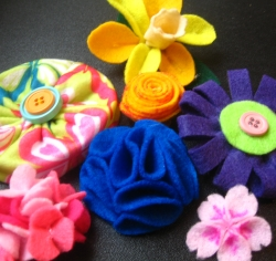 Felt Flower Tutorials
