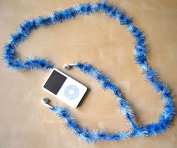 Fluffy Earphone Sleeve