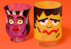 Frankenstein and Bride Glasses