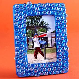 Glass Pebble Frame