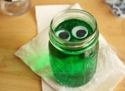 Googley-Eyed Green Blobs