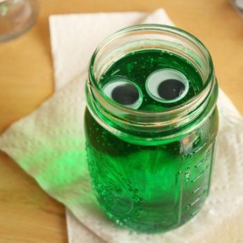 Googley-Eyed Green Blobs