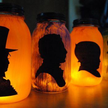 Halloween Silhouette Lanterns