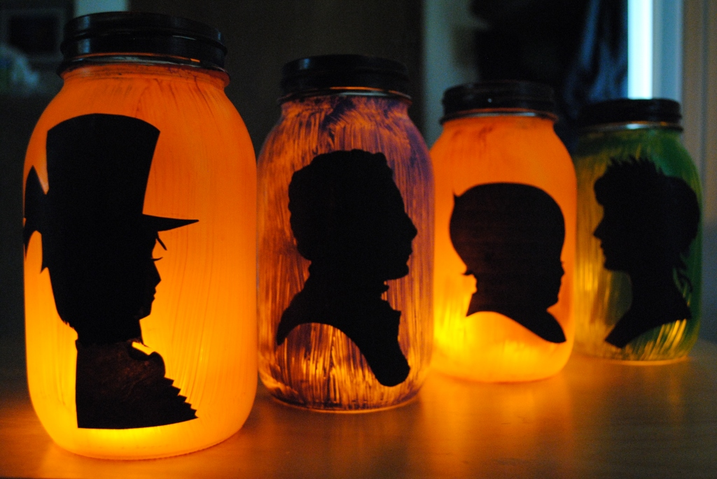 Halloween Silhouette Lanterns Fun Family Crafts