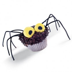 Hairy Daddy Longlegs Cupcakes
