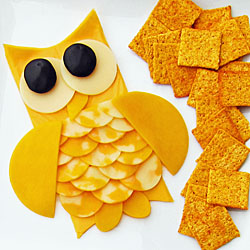 Cheese Slice Owl