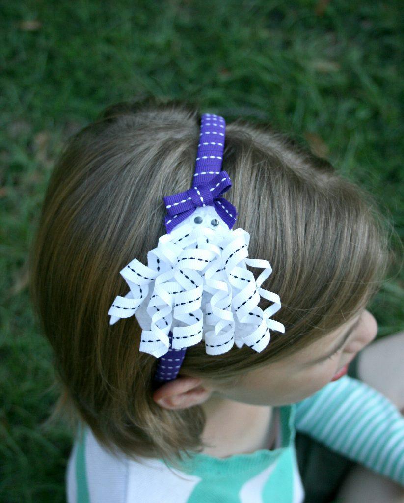 Curly Ghost Headband