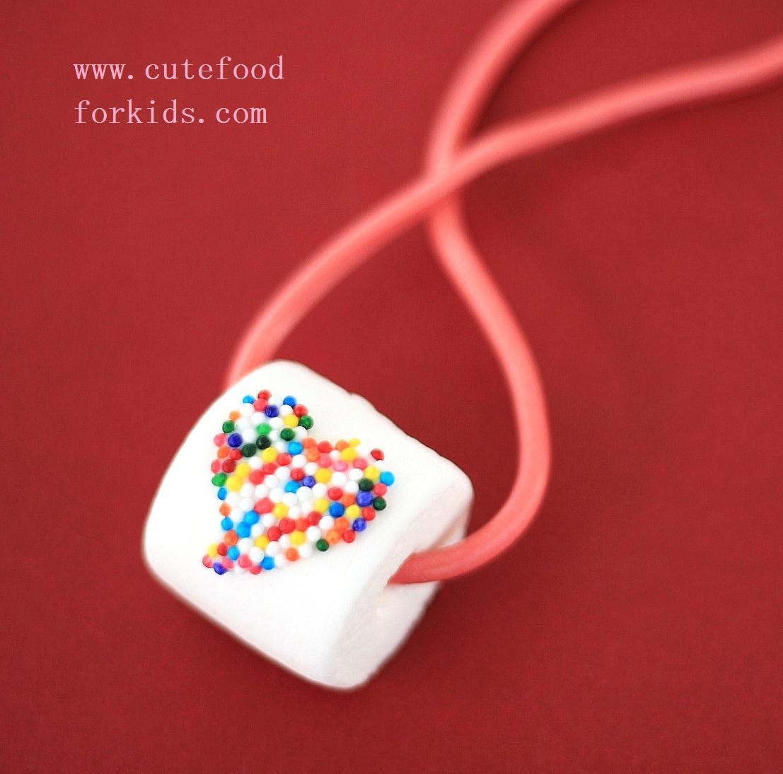 Edible Marshmallow Necklace Fun Family Crafts