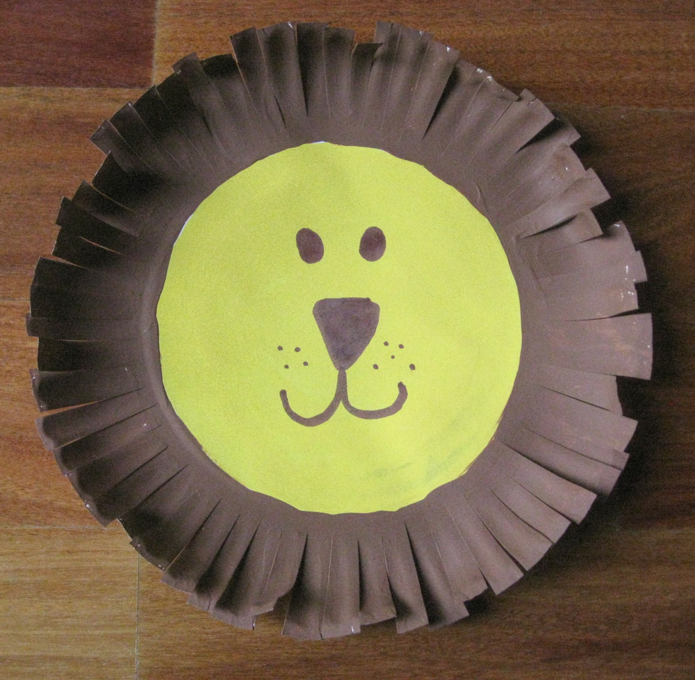 Paper Plate Lion & lion Archives | Fun Family Crafts
