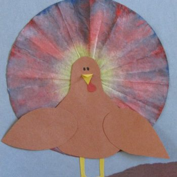 Coffee Filter Turkeys