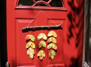 Leafy Door Hanger