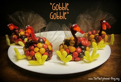Candy Turkey Favors