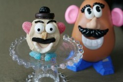 Mr. Potato Head Cupcakes