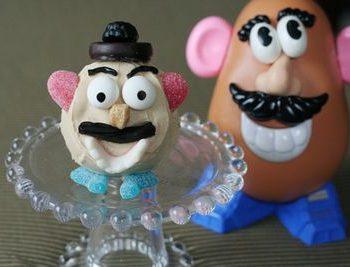 Mr. Potato Head Cupcakes
