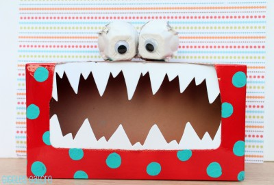 Tissue Box Tattle Monster