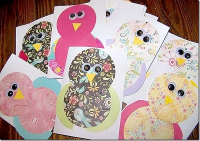 Owl Thank You Notes Fun Family Crafts