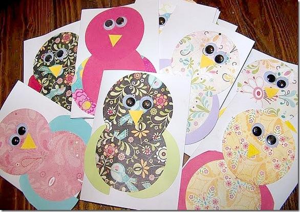 Owl Thank You Notes