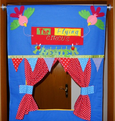 Door Frame Puppet Theater