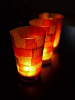 Autumnal Table Lanterns