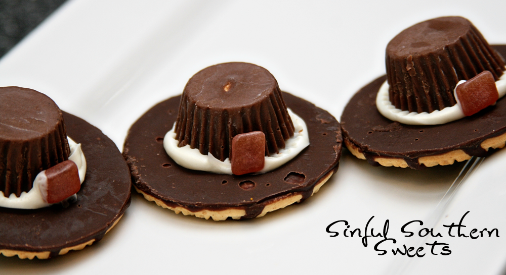 Pilgrim hat cookies fun family crafts for Fun kid food crafts