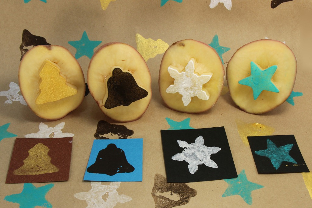 Perfect Potato Prints Fun Family Crafts