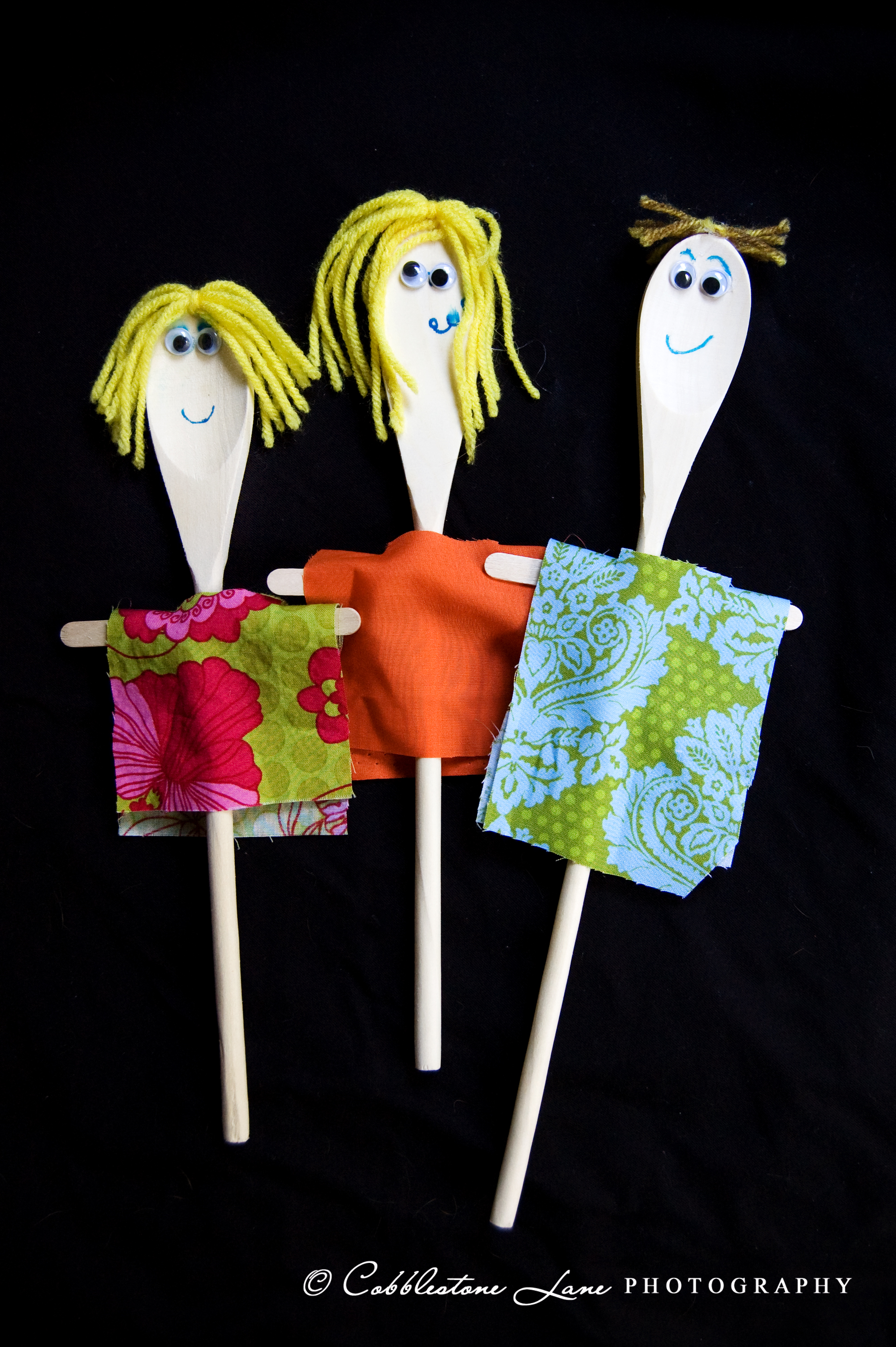 Wooden Spoon Puppets Fun Family Crafts