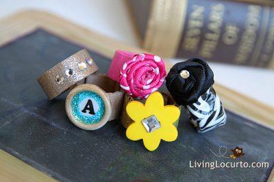 Cardboard Fashion Rings
