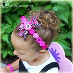 Make a Button Headband