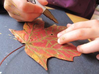 Thanksgiving Leaf Garland