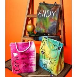 Tie Dye Lunch Bags