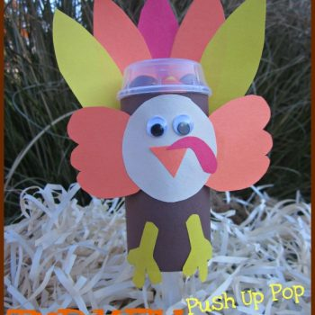 Turkey Push Up Pop Sleeves